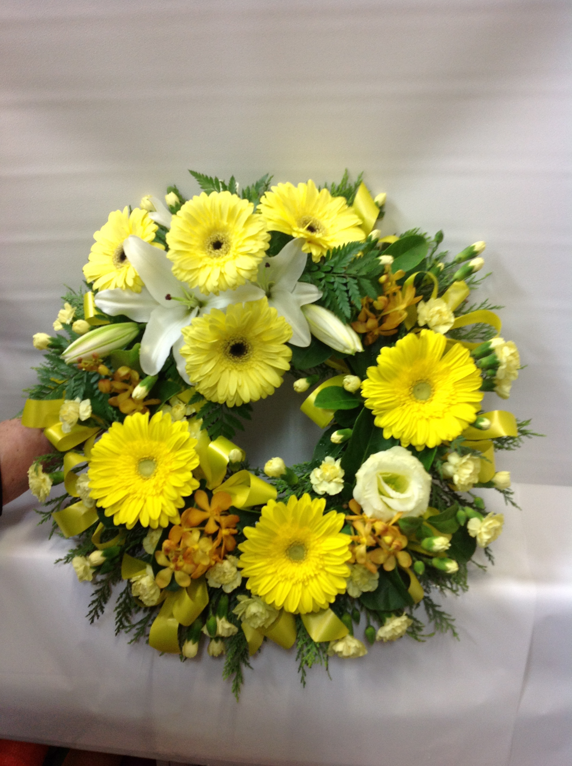 Flower Wreath Yellow